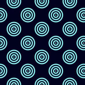 Geometric Pattern: Rondel: Bioluminescence