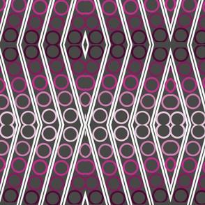 1980'S Fabric -Geometric Repeat