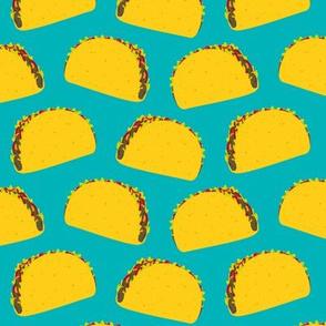 Tasty Tacos (Teal)