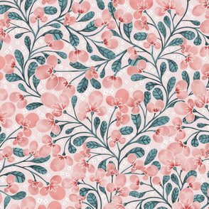Peach Blossoms { Medium }