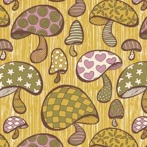 Wonderland Mushrooms - Yellow