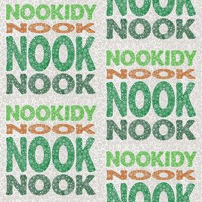 Nookidy Nook Nook Nook Art (Green)
