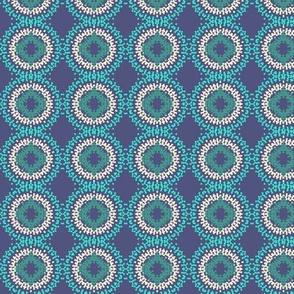 Circle Medley Blue Green