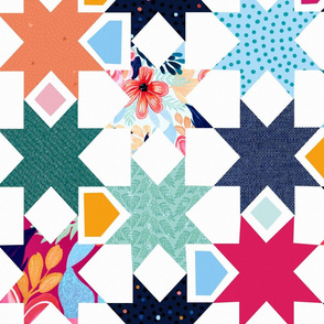 Nadia cheater quilt - large