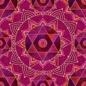 Sacred Geometry Mandala Pattern