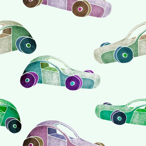 Toy car pattern