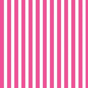 Hot Pink Skinny Stripe