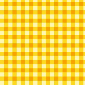 GINGHAM ( yellow) LARGESCALE