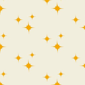 Yellow Orange Stars