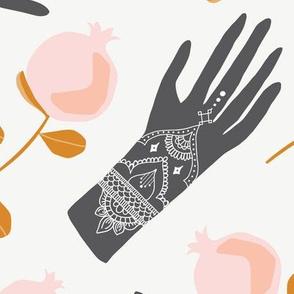 Henna Party Large - No Polka Dots
