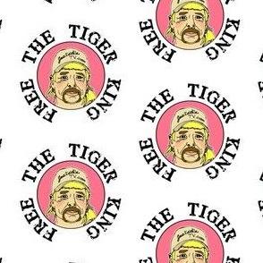 free the tiger king - white