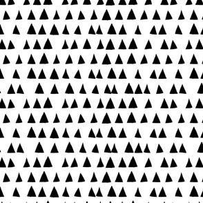 Triangles { white & black }