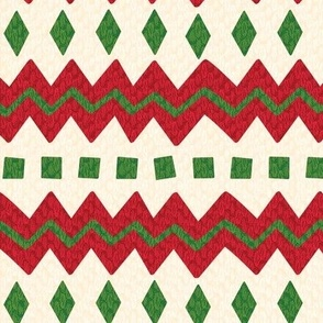 Christmas Sweater Stripe