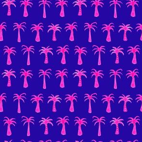 Pink Palms dark