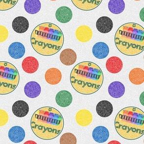 Crayon Spot Colors