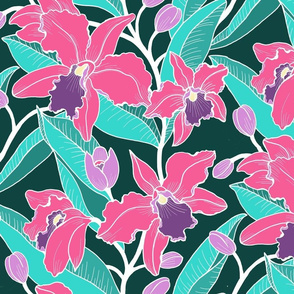 Wild Orchid-pink small