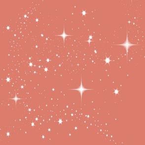 Galaxy Glitter Coral
