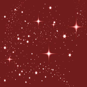 Galaxy Glitter Red