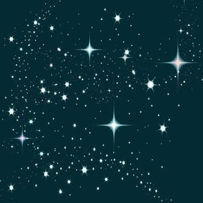 Galaxy Glitter Teal