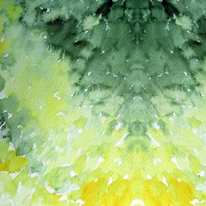Spring Greens tie dye