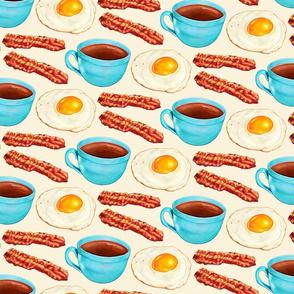 Coffee Bacon & Eggs - Cream