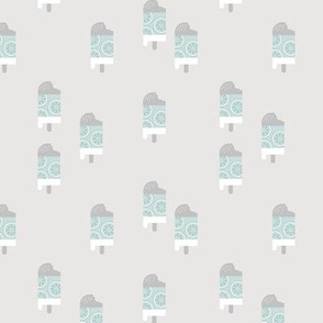 Little popsicle lime citrus ice cream cone summer snack kids neutral nursery green gray baby