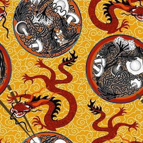 ramen dragon bowls