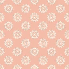 Basic mandala symbol | rose