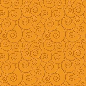Basic spiral symbols | gold