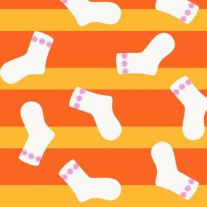Scary Socks Large