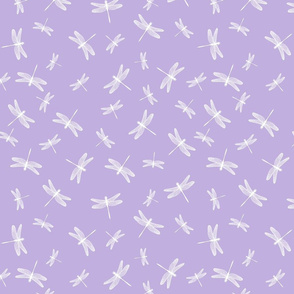 Dancing Dragonflies Lavender