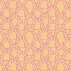 Tequila sunrise coral pink pantone