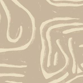 Spaghetti Hieroglyphs sand