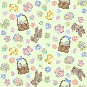 Hoppy Easter on Green