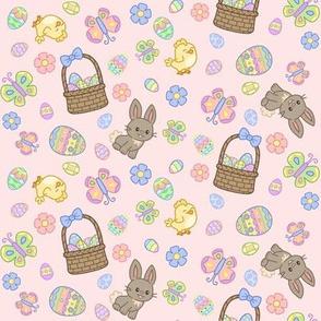Hoppy Easter on Pink