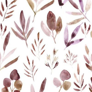 Fall urban jungle in neutral shades for modern home decor, bedding, nursery