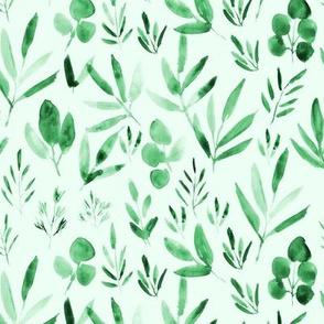 urban jungle - green watercolor p269