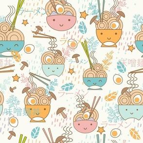 Kawaii Noodle Bowls