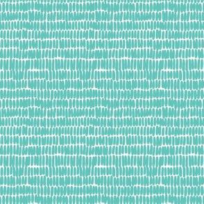 micro hatches - turquoise