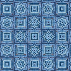 Blue Jeans Denim Quilt Patchwork