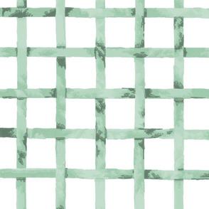 Green Gables Trellis ~ Patina on White