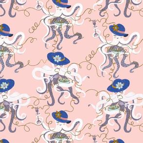 pasta octopus