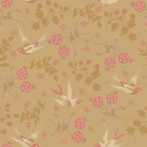 Porch Perfect birds pink 2020-20