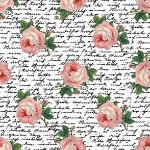 Pink Skull Roses | rosebw01