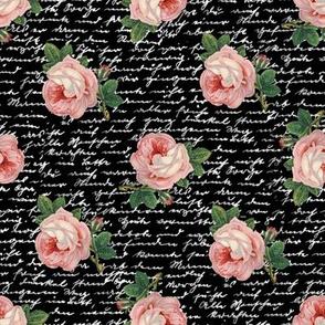 Pink Skull Roses | rosebw02