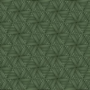 Honeycomb Grass Weave - Green