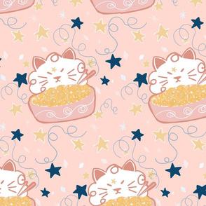 Cosmic cat noodles