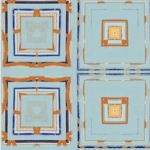 Distressed Denim Tiles