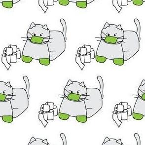 Corona Cat Green