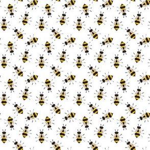 Mama Bee on White
